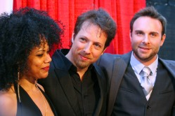 (L-R) Rayna Wrighton, Director: Geoff Ryan, and Actor: Bryan Kaplan Copyright 2014 Bourgeois Magazine LA