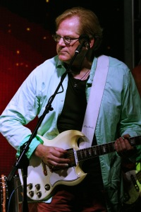 (Guitarist/Singer) John Jorgenson during a live performance with The Carl Verheyen Band, at Bogies Bar, Jun 12, 2014Bourgeois Magazine LA