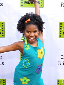 Trinitee Stokes (Fashion Designer/Reporter FTS News) during THE WORLD FAMOUS KID DETECTIVE at ARENA CINEMA HOLLYWOOD, CA Sat, 6-14-2014 © Bourgeois Magazine LA/ RICHARD DALTON 2014