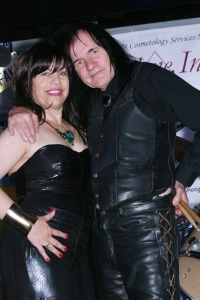 Rodica Isabell Shaldan and Ron Whitaker at the Rock 4 Veterans charity events, Aug 2, 2014 Copyright 2014 Bourgeois Magazine LA